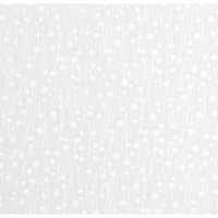 Stwd Floral Stems Mini Fitted Sheet Color: White