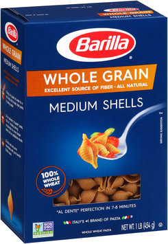 Barilla® Whole Grain Medium Shells 1 lb. Box
