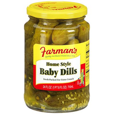 Farman's® Home Style Baby Dills 24 fl. oz.