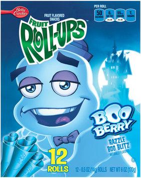 Fruit Roll-Ups™ Boo Berry Razzle Blitz Fruit Flavored Snacks
