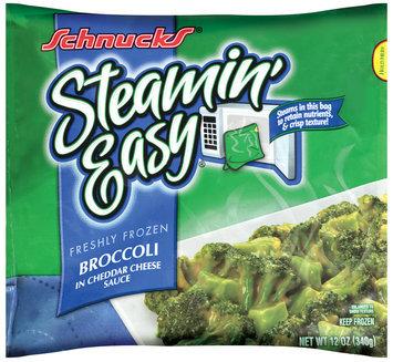 Schnucks® Steamin' Easy® Frozen Broccoli in Cheddar Cheese Sauce 12 oz.
