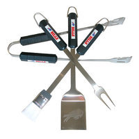 Caseys Buffalo Bills 4-Piece Grilling Utensil Set