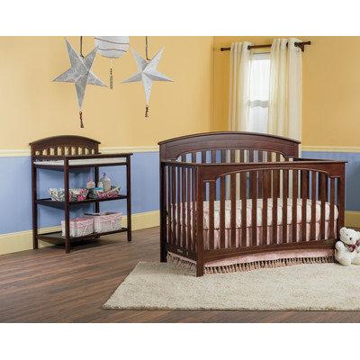 Child Craft Stanford 4-in-1 Convertible 2 Piece Crib Set
