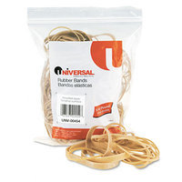 Universal 00454 Rubber Bands- Size 54- Assorted Lengths- 1/4lb Pack
