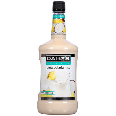 Daily's® Cocktails Non-Alcoholic Pina Colada Mix 59.2 fl. oz. Bottle