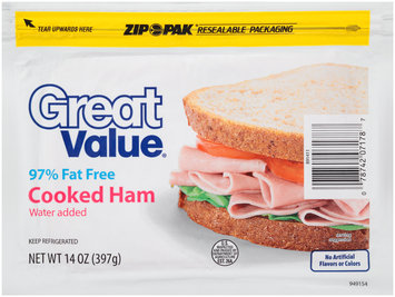 Great Value® Cooked Ham