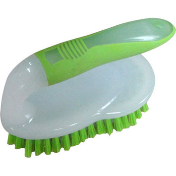 Home Basics Scrub Brush (Set of 3) Color: Green