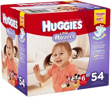 Huggies® Little Movers Size 6 Diapers 54 ct Box