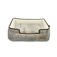 PLAY Savannah Grey Lounge Dog Bed Medium