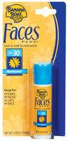 Banana Boat SPF 30 Faces Plus Sunscreen .55 Oz Peg