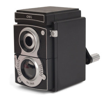 Kikkerland Twin-Lens Reflex Camera Pencil Sharpener