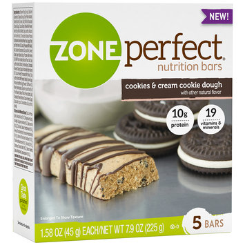 Zone Perfect® Cookies & Cream Cookie Dough Nutrition Bars