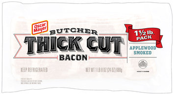 Oscar Mayer Butcher Thick Cut Applewood Smoked Bacon 24 oz. Pack