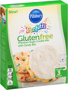Pillsbury® Gluten Free Funfetti® Sugar Cookie Mix with Candy Bits