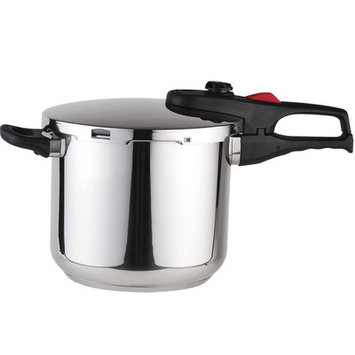 Magefesa Practika Plus Stainless Steel Super Fast Pressure Cooker Size: 8 Quart