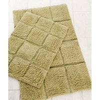Hotel New York Pacific Block 2 Piece Bath Rug Set