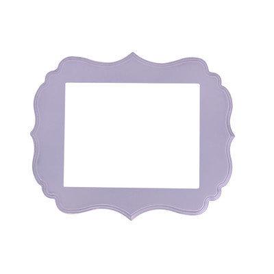 Secretly Designed London Frame Size: 8x10, Color: Lavender