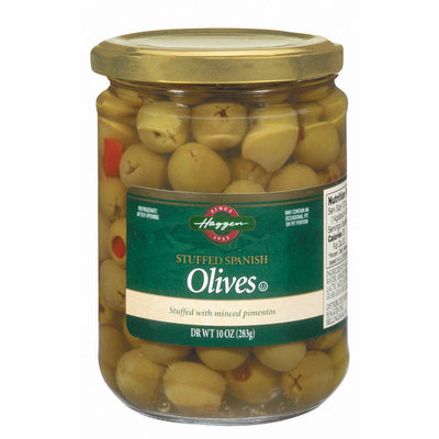 Haggen Stuffed Spanish W/Minced Pimentos Olives