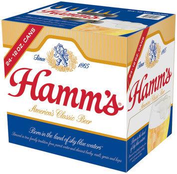 Hamm's Premium 12 Oz Cans Beer 24 Pk Cube