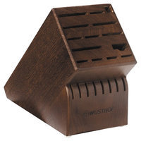 Wusthof Knife Block, Walnut Finish - 22-Slot Block