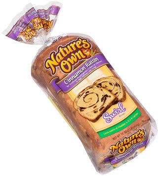 Nature's Own® Cinnamon Raisin Swirl Bread 16 oz. Loaf