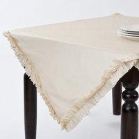 Saro Ruffle Design Table Topper