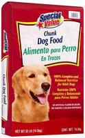 Special Value® Chunk Dog Food 32 lb. Bag