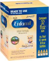 Enfamil® Reguline™ for Digestive Health & Soft Stools Ready to Use Milk-Based with Iron Infant Formula 4-8 fl. oz. Bottles