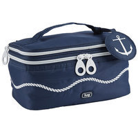 Lug Nautical Towboat Cosmetic Case Color: Navy Blue