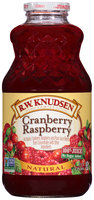 R.W. Knudsen Family® Natural Cranberry Raspberry 100% Juice 32 fl. oz. Bottle