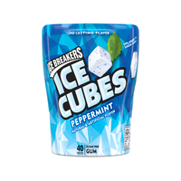 ICE BREAKERS ICE CUBES PEPPERMINT GUM