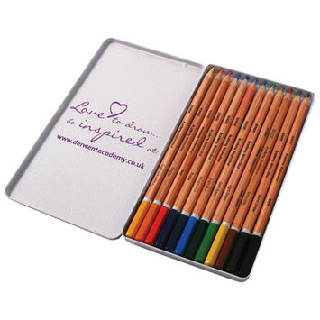Derwent Academy WaterColour Pencils Tin x 12