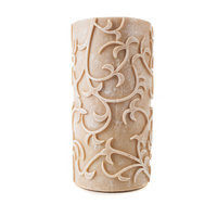 Theamazingflamelesscandle Carved Series Flameless Pillar Candle Size: 8