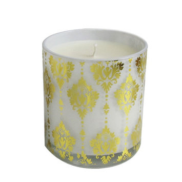 Jay Import Inc Damask Rosemary and White Ginger Scent Candle