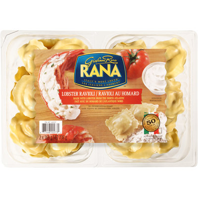 Giovanni Rana Lobster Ravioli 2-369g Packs