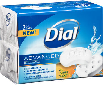 Dial® Advanced Hydrofresh Scent Deodorant Soap