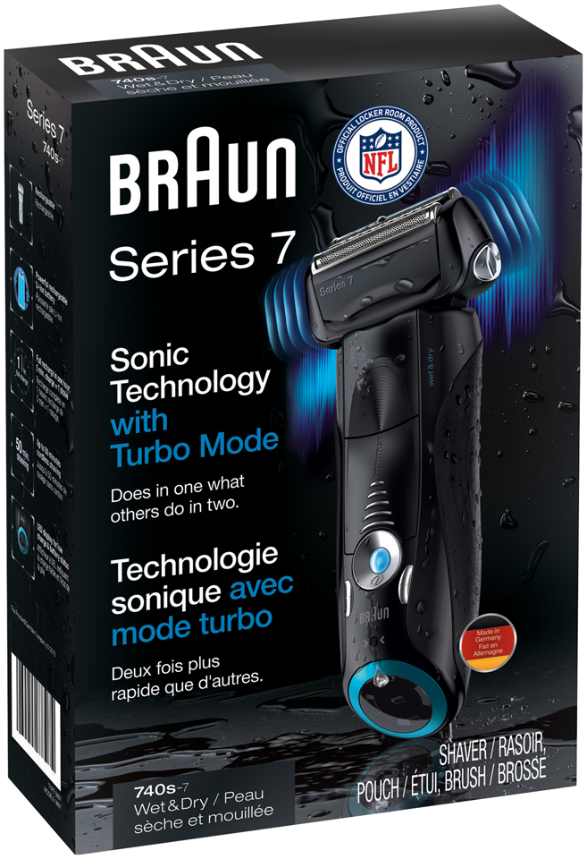 7Series Braun Series 7 740-7 Electric Wet & Dry Foil Shaver