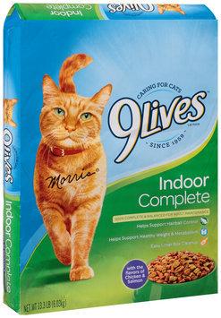 9Lives Indoor Complete Dry Cat Food