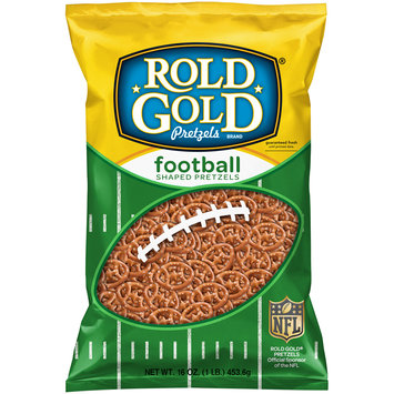 Rold Gold® Football Shaped Pretzels 16 oz. Bag