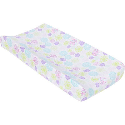Miracle Blanket Colorful Bursts Changing Pad Cover
