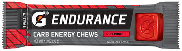 G® Endurance Fruit Punch Carb Energy Chews 1.3 oz. Wrapper
