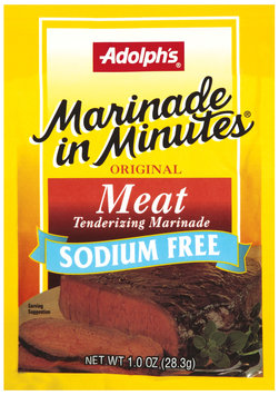 Dry Seasoning Marinade In Minutes Original Meat Sodium Free Tenderizing Marinade 1 Oz Packet