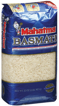 Mahatma Basmati Imported Indian Fragrant Rice 2 Lb Bag