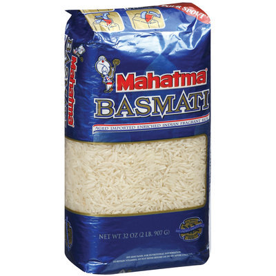 Mahatma Basmati Imported Indian Fragrant Rice 2 Lb Bag