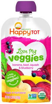 Happy Tot® Love My Veggies Organics Veggie & Fruit Blend 4.22 oz. Pouch