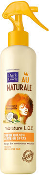 Dark and Lovely® Au Naturale Moisture L.O.C. Super Quench Leave-In Spray for All Hair Types 8.5 fl. oz. Bottle