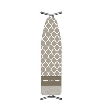 Home Outfitters Laundry Solutions by Westex - Turbo-Glide European Ironing Board Cover-BROWN-One Size