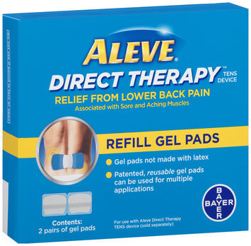 Aleve® Direct Therapy™ TENS Device Refill Gel Pads 2 ct Box
