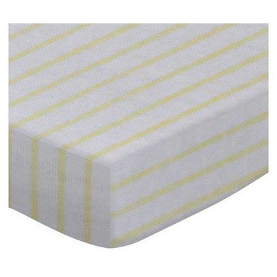 Stwd Stripes Jersey Knit Fitted Bassinet Sheet