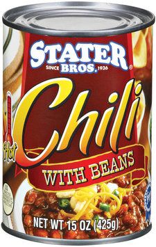 Stater Bros. Hot Chili 15 Oz Can